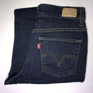 Levi's 512 Perfectly Slimming Boot Jeans 6P S 26
